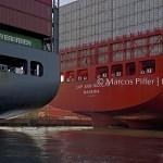 Porto de Santos | Pelo canal do estuário